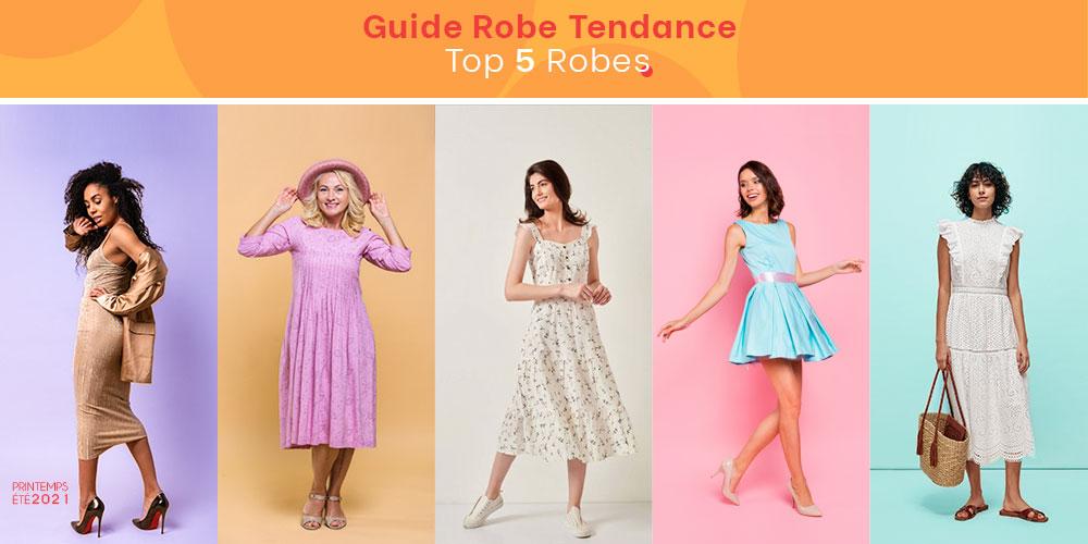 Les 5 meilleures robes tendances testées et comparées