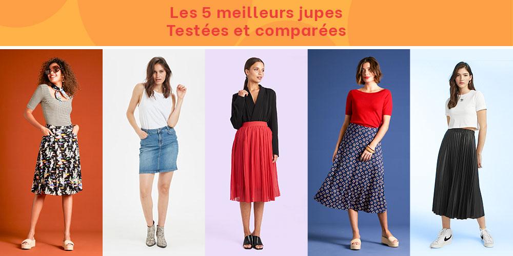 Les 5 meilleures jupes testées et comparées