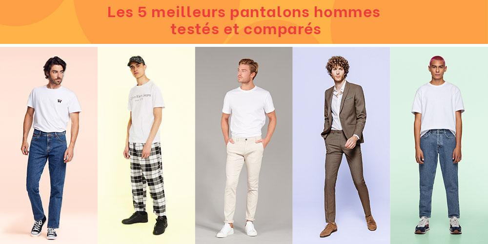 Les 5 meilleurs pantalons hommes testés et comparés